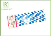 100% Recycled Party Paper Straws For Kids / Adults Food Grade OEM