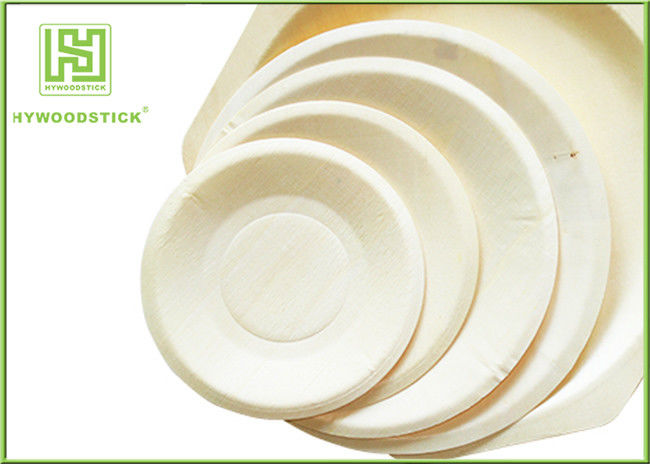Eco - Friendly Disposable Wooden Plates Biodegradable Bamboo Plates OEM