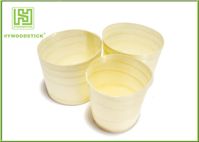 Mousse Wooden Cup disposable Cup for Cake China Made Pine Wood Cup